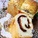 豆沙土司面包的做法