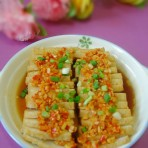 剁椒蒸鱼饼