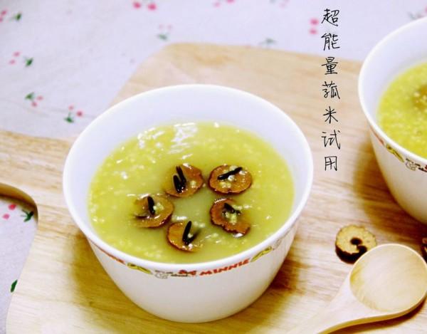 二米红枣粥