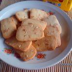 方块花生饼干的做法