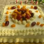 方形水果奶油蛋糕的做法