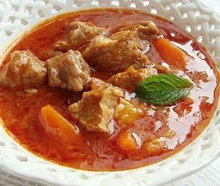 番茄澳洲牛肉汤