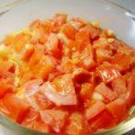番茄菜花蒸蛋的做法