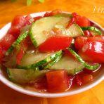 番茄炒秋黄瓜的做法