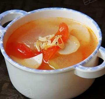 番茄冬瓜虾皮汤