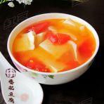 番茄豆腐汤