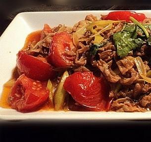番茄烩羊肉