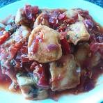 番茄酱三文鱼