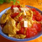 番茄鸡蛋烧豆腐的做法