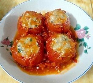 番茄酿鱼肉