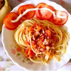 番茄肉酱意面