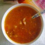 番茄肉末土豆汤