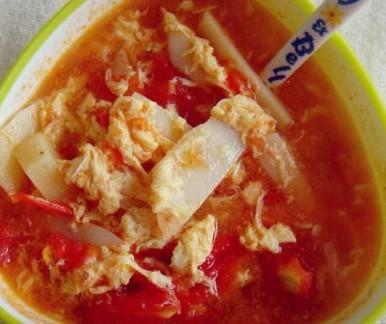 番茄土豆蛋汤