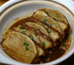奉化芋艿头扣肉煲