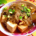 粉条炖豆腐