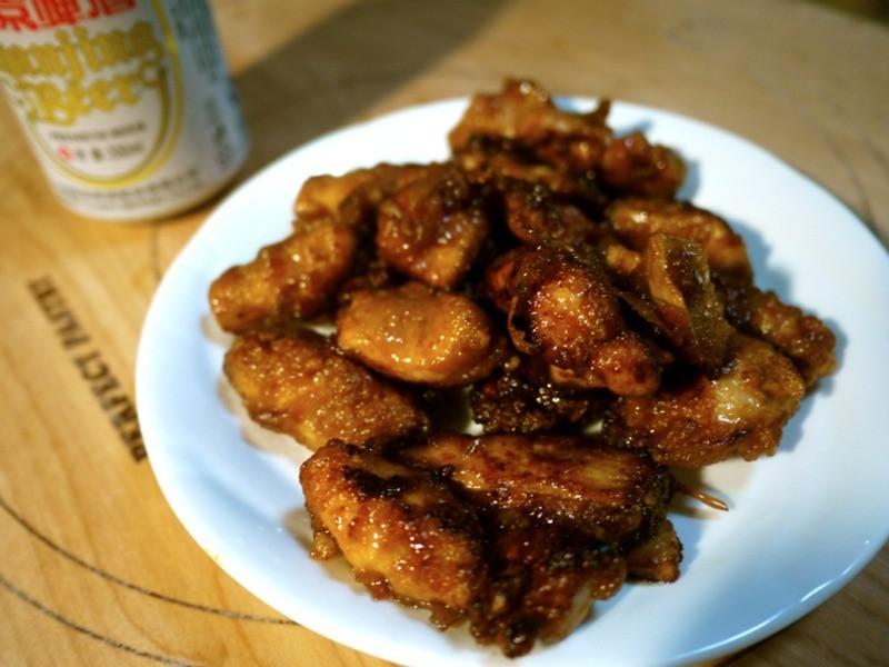 腐乳炸鸡块