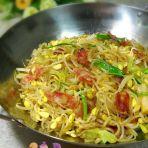 干锅豆芽粉丝的做法