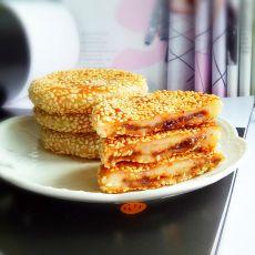 桂花香土豆糯米饼
