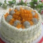 果篮奶油蛋糕