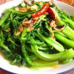 海米油麦菜