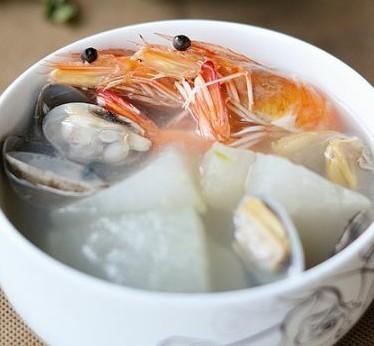海鲜冬瓜汤的做法