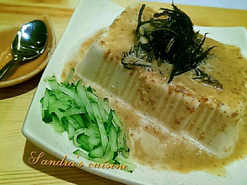 海藻胡蔴豆腐