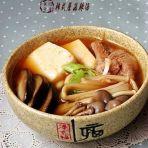 韩式蘑菇辣汤的做法