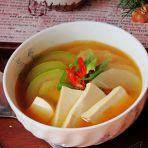 韩式素酱汤的做法