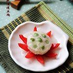 荷花莲蓬豆腐