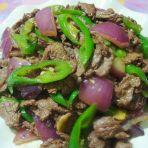 黑椒汁炒牛肉