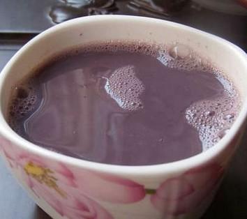 黑米润豆浆的做法