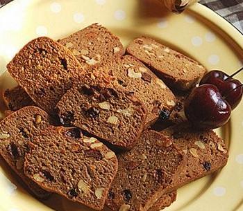 黑糖果仁吐司饼干的做法