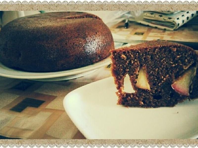 黑糖苹果蛋糕