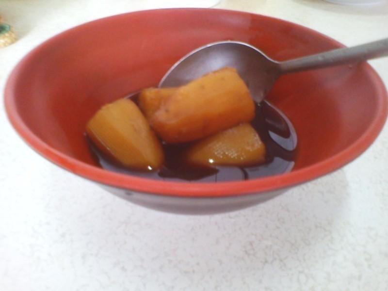 黑糖薑汁地瓜汤的做法