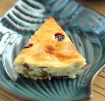 黑樱桃热烤式乳酪蛋糕