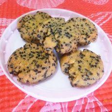 黑芝麻小饼干