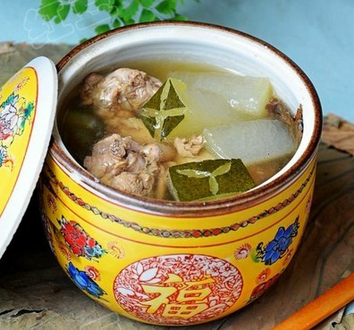 荷叶鸭肉冬瓜汤