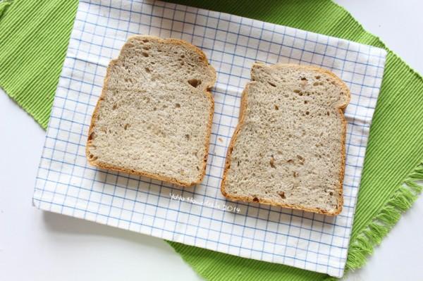 红茶栗仁面包