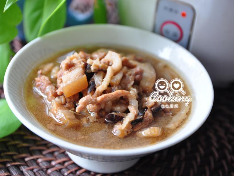 红葱香菇滷肉