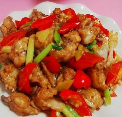 红椒爆鸡翅