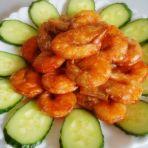 红油大虾的做法