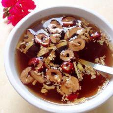 红枣黑糖姜茶