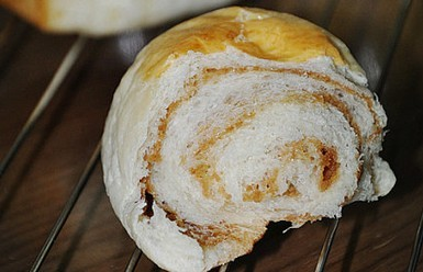 红枣面包卷