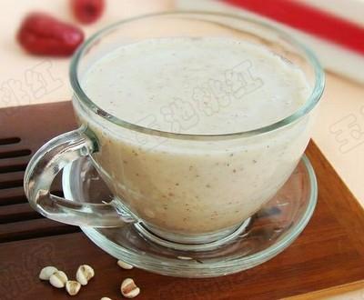 红枣薏米酸奶昔的做法