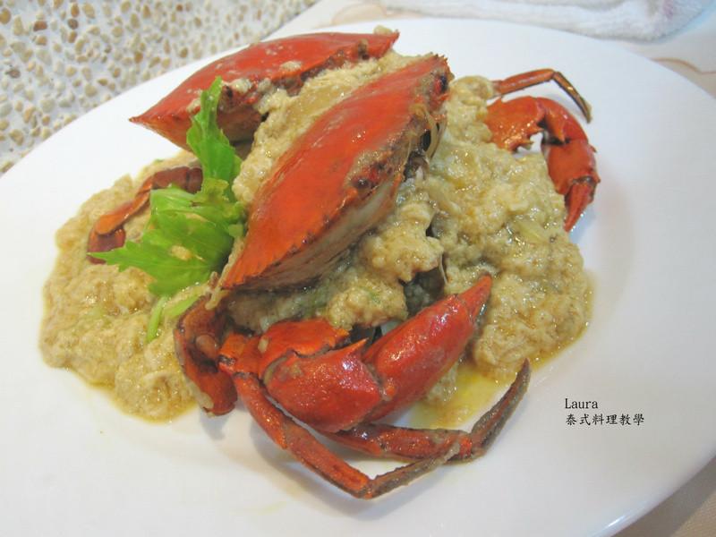 滑蛋咖哩螃蟹