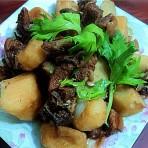 淮山薯焖羊肉