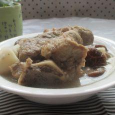 淮山香菇大骨汤