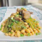 黄豆排骨焖苦瓜的做法