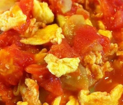 黄瓜片番茄炒蛋