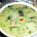 黄瓜皮蛋排骨汤
